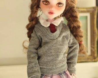 Sale!! OOAK custom made school look set for Monster High doll - by Mindful Life