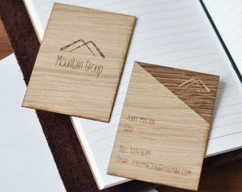 business cards - business card  - custom business cards -  wood business cards - rustic business cards - personalized business cards