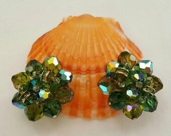 VENDOME Green Earrings