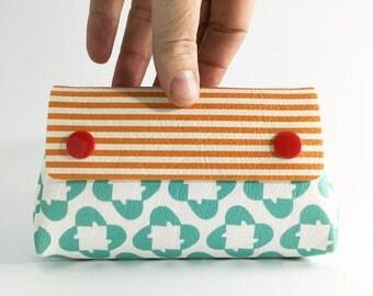 Womens wallet, Vegan wallet, Organizer wallet, Cute wallet, Small Coin Purse, Small wallet , Printed wallet , Printed vegan colorful wallet
