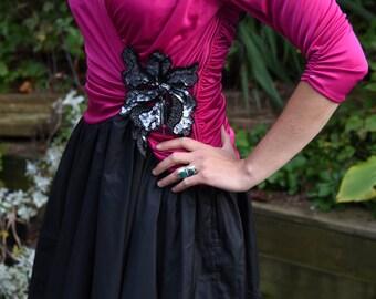 Susan Roselli For Vijack Vintage dress 1980s  1950s Formal