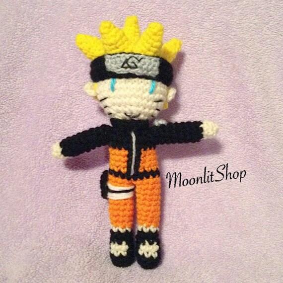 Amigurumi Naruto Pattern : Naruto Shippuden Inspired Crochet Naruto Uzumaki Shippuden