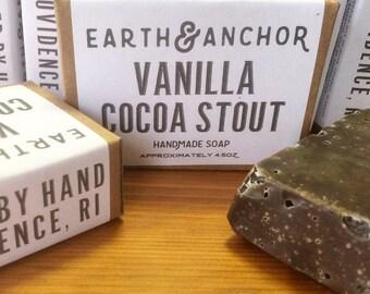 Vanilla Cocoa Stout Soap