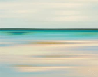 Photo Art for a Cause - download print, abstract, beach, turquoise, teal, green, pastels, photography, print, bedroom, photo, blue, beige