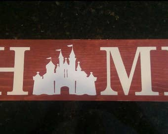 Disney home sign