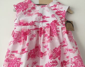 Pink Tropical Island Tunic