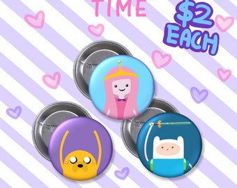 Adventure Time Badges