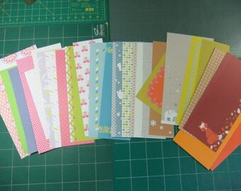 Papers for Scrapbooking (seasons)