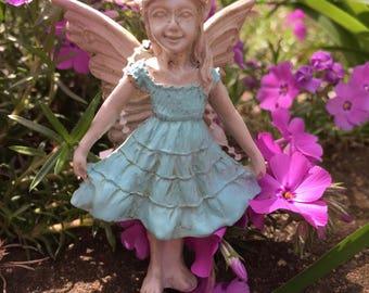Miniature Garden Fairy, Miniature Fairy, Fairy Garden, Terrarium Garden, Flower Pot Garden, Gardening Fairy,