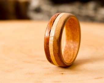 Limited Edition Bentwood Ring