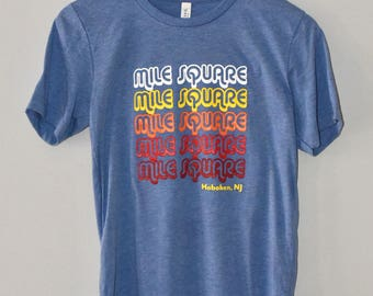 Mile Square graphic tee Adult t-shirt