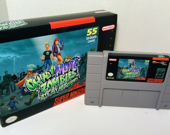 Oh no! More Zombies Ate My Neighbors - English SNES NTSC