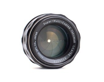 Pentax TAKUMAR Super-Multi-Coated 50mm f/.4 Manual Prime Lens M42 Mount