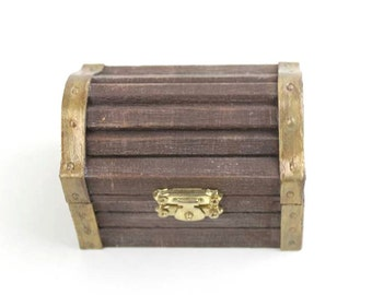 Treasure Chest Ring Box