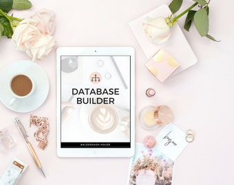 real estate database template