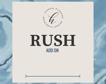 Rush My Order : Add On