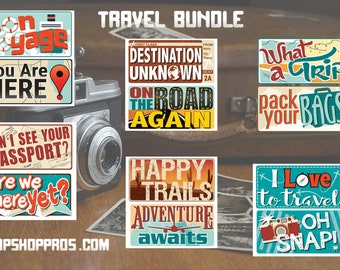 BEST SELLER Travel Props | Vacation Prop Signs | Destination Signs | Photo Booth Props | Prop Signs