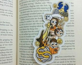 Neverending Bits Traditional Bookmark / BT331