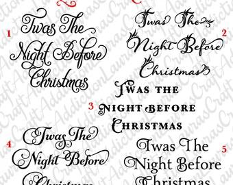classic christmas poem