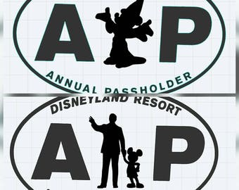 Disney Inspired AP Decal- Choose Your Character!