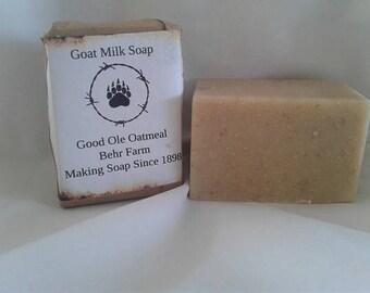 Good Ole Oatmeal Goats Milk Soap