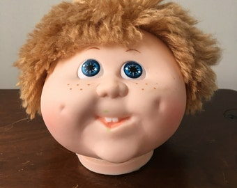 Cabbage Patch Kid Head