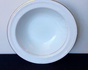 "Noritake Whitecliff 9"" Round Vegetable Bowl"