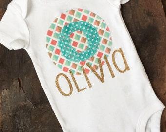Personalized Girl oneise-Custom Onesie-Girl-Monogrammed Onesie Girl-Onsie-Baby clothes-Baby shower gift girl-Baby boy onesie-Newborn gift