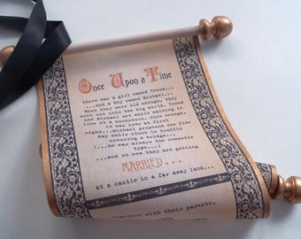 Wedding Invitations Medieval Once Upon A Time Set Of 10
