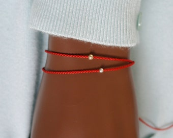 1 wish bracelet beads on silk silk bracelet wish bracelet red silk bracelet