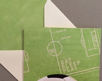 Soccer Cards-Soccer Coach Cards-Set of 4 Cards