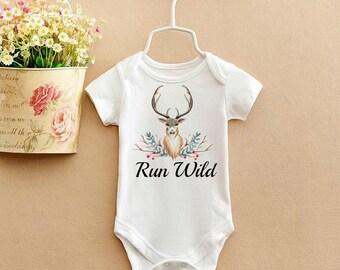 Run Wild Baby Bodysuit 0-12