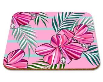 Tropical Placemat - Illustration Tropic Kitchen Decor