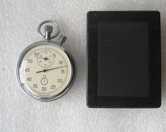 USSR Stop watch agat 15 jewels. NEW
