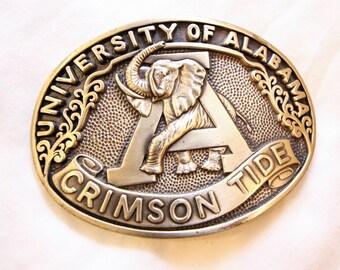 University of Alabama Crimson Tide Belt Buckle