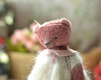 Teddy bear, toy artist teddy Tatiana Stuffed toy, handmade teddy