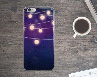 Night lights iPhone Case. Night lights iPhone 7 case. Night iPhone 6 Case. Lights iPhone 5 Case.