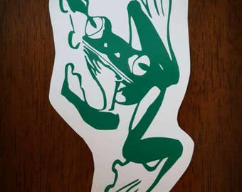 Vinyl Decal- Frog