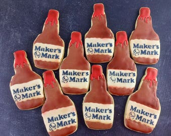 Bourbon Cookies, Makers Mark, Party, beverage, liquor, Party, Rehersal Dinner Cookies