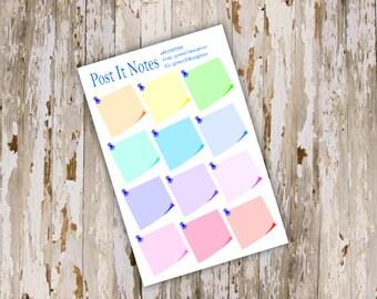Post It Note Sticker Single Sheet