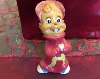 Vintage Alvin And The Chipmunks figure