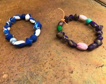 Handmade beads - bracelets