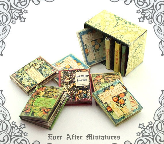 Goody Two-Shoes Dollhouse Miniature Book