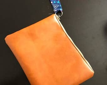 Orange Brown clutch