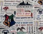 Hogwarts Wristlet Wallet-Harry Potter Wallet-Books-Nerd-Geek-The Boy Who Lived-HP Zippered Pouch-Clutch-OOAK-Quick Ship-Custom Made