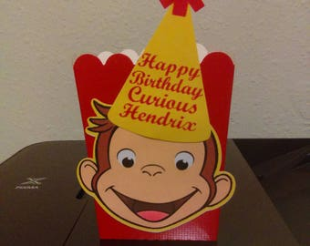 Curious George Party Favor Boxes