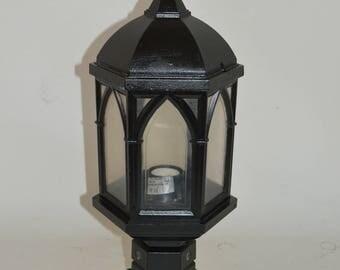 Vintage Aluminium Outdoor Garden Light/ Lamp/Lanter
