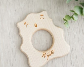 Personalised Teething Bear