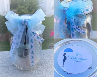 Treat Yourself-Spa in a jar-Perfect Party Gift or Prize-Mason Jars Gift Ideas-Secret Santa Gift