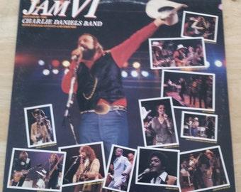 Volunteer Jam VI - KE2 36438 - 1980 - Charlie Daniels, Wet Willie, Henry Paul, Ted Nugent, Dobie Gray, Crystal Gayle, Louisiana's Leroux-VG+
